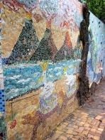 Mosaics made by an American resident who owns a lovely hotel on the coast :)
