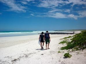 Tortuga Bay with Jools and Christian