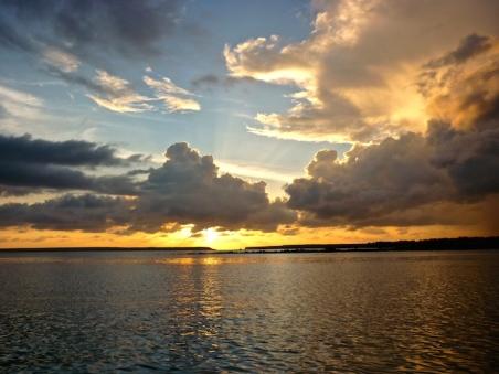 Sunset on the Beagle
