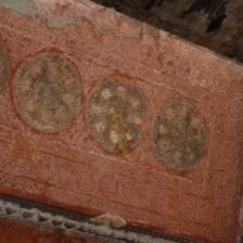 Preserved ceilings, Angkor Wat - Siem Reap