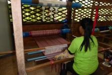Silk Weaving - Siem Reap