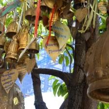 Bells Outside Wat Rakhang Khositaram