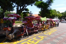 Trishaws - Melaka