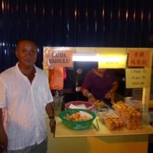 The guy who gave us cake! - Melaka